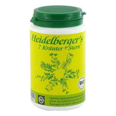 Bio Heidelbergers 7 Kräuter Stern Tee 100 g von Gesundheitsversand A. Heine GmbH PZN 05505420