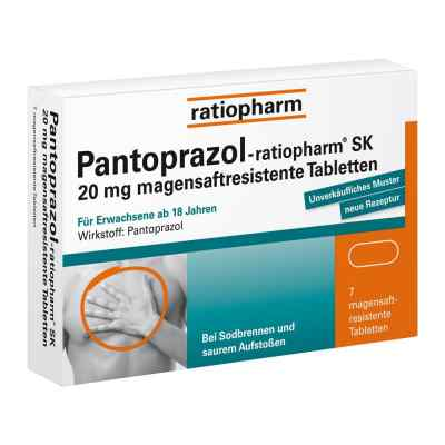 Pantoprazol-ratiopharm SK 20mg  bei apotheke.at bestellen