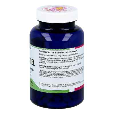 Mariendistel 500 mg Gph Kapseln  bei apotheke.at bestellen