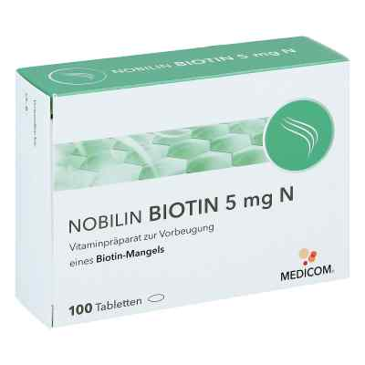 Nobilin Biotin 5 mg N Tabletten  bei apotheke.at bestellen