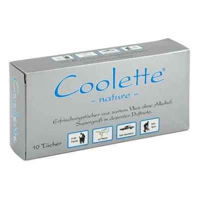 Coolette Nature Erfrischungstücher Vlies  bei apotheke.at bestellen