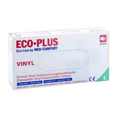 Vinyl Einweg-handschuhe Ecoline Plus Größe l