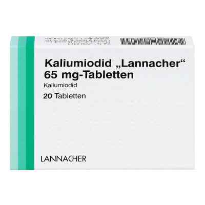Kaliumiodid Lannacher 65 mg Tabletten  bei apotheke.at bestellen