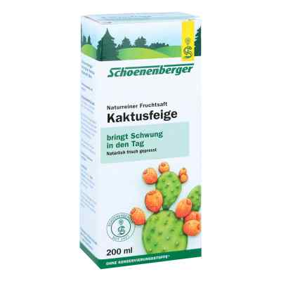 Kaktusfeige Saft bio Schoenenberger