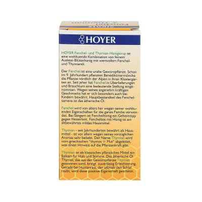 Hoyer Fenchel+thymian Honigsirup  bei apotheke.at bestellen