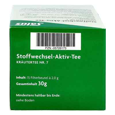 Stoffwechsel Aktiv Tee Kräutertee Nummer 7  bio Salus  bei apotheke.at bestellen