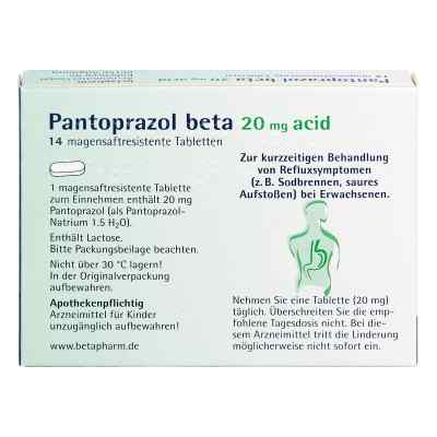 Pantoprazol beta 20mg acid  bei apotheke.at bestellen