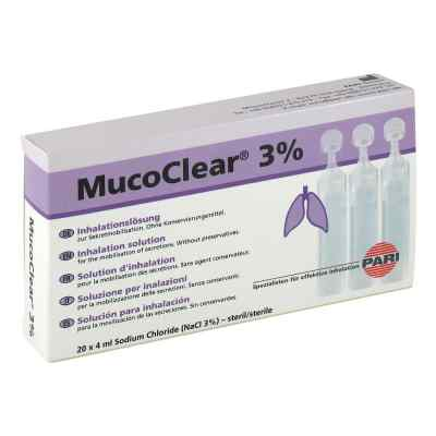 Mucoclear 3% Nacl Inhalationslösung  bei apotheke.at bestellen