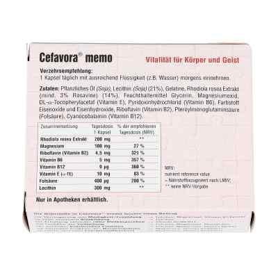 Cefavora memo Weichgelatinekapseln  bei apotheke.at bestellen