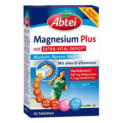 Abtei Magnesium Plus mit Extra Vital Depot Tabletten  bei apotheke.at bestellen