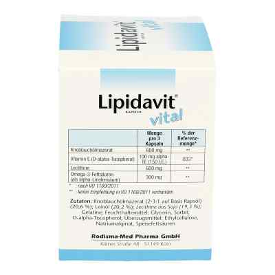 Lipidavit Vital Kapseln  bei apotheke.at bestellen