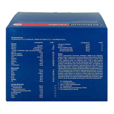 Orthomol Cardio Granulat + Kapseln 30 Kombipackung