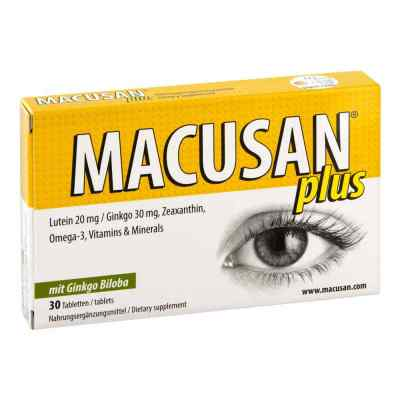 Macusan plus Tabletten  bei apotheke.at bestellen