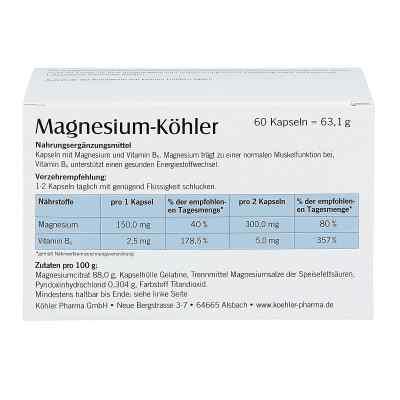 Magnesium Köhler Kapseln  bei apotheke.at bestellen