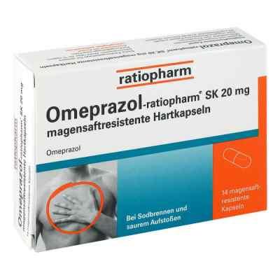 Omeprazol-ratiopharm SK 20mg