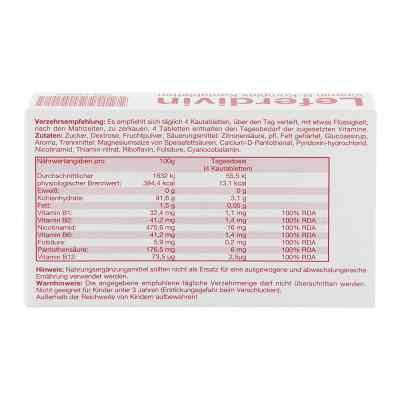 Leferdivin Vitamin B Komplex Kautablette
