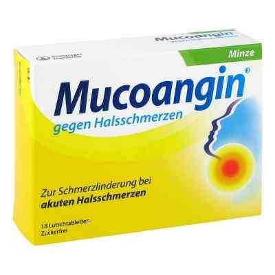 Mucoangin gegen Halsschmerzen Minze  bei apotheke.at bestellen