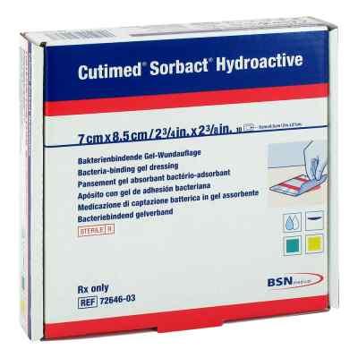 Cutimed Sorbact Hydroactive Kompressen 7x8,5 cm  bei apotheke.at bestellen