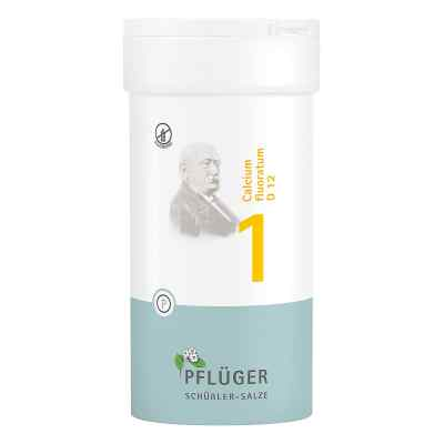 Biochemie Pflüger 1 Calcium fluor.D 12 Tabletten  bei apotheke.at bestellen
