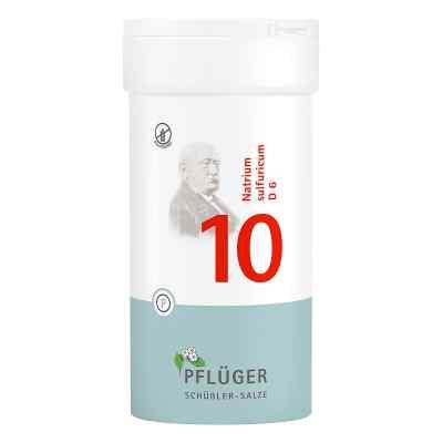Biochemie Pflüger 10 Natrium Sulfur D  6 Tabletten  bei apotheke.at bestellen