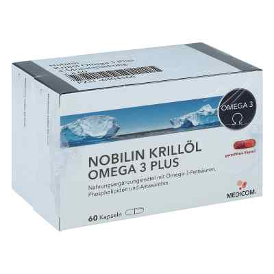 Nobilin Krillöl Omega 3 Plus Kapseln