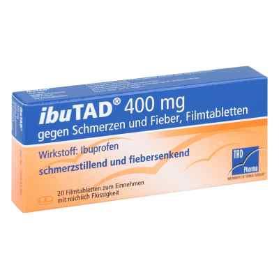 IbuTAD 400mg gegen Schmerzen und Fieber