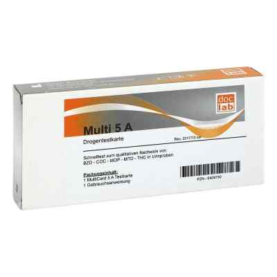 Drogentest Multi 5a Amp Coc Met Mop Thc Teststr.  bei apotheke.at bestellen