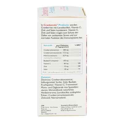 Cranberola Probiotic Kautabletten