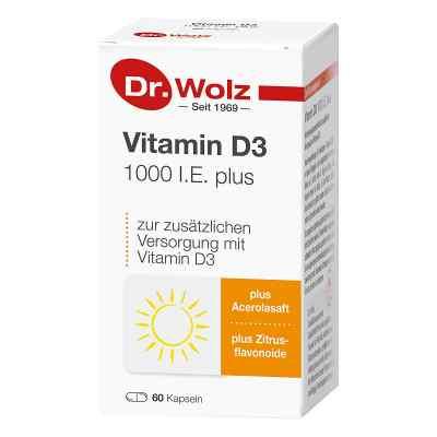 Vitamin D3 1000 I.e. plus Doktor wolz Kapseln  bei apotheke.at bestellen