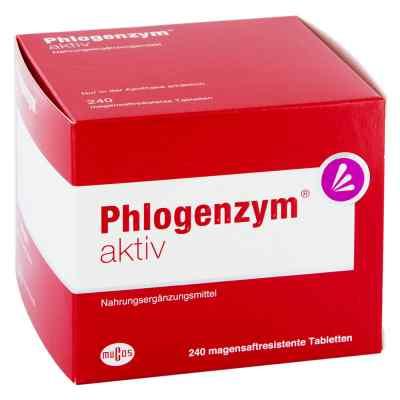 Phlogenzym aktiv magensaftresistente Tabletten  bei apotheke.at bestellen