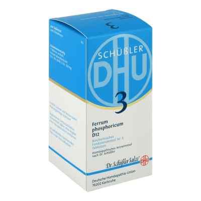 Biochemie DHU Schüßler Salz Nummer 3 Ferrum phosphoricum D12  bei apotheke.at bestellen