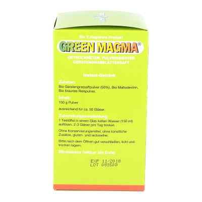 Green Magma Gerstengrasextrakt Pulver  bei apotheke.at bestellen