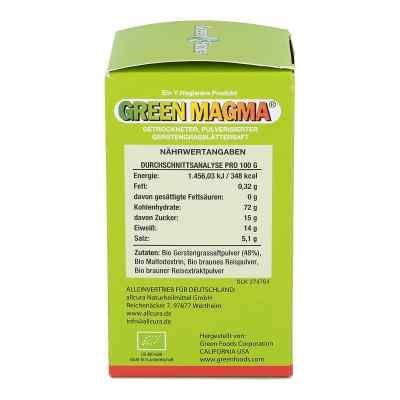 Green Magma Gerstengrasextrakt Tabletten