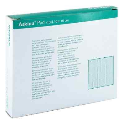 Askina Pad Wundauflage 10x10cm nichthaftend