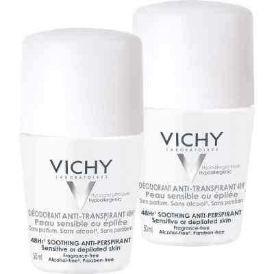Vichy Deo Roll on Sensitiv Anti transparent 48h Doppelp.  bei apotheke.at bestellen