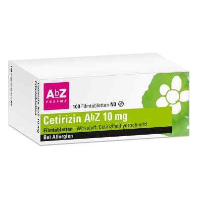 Cetirizin AbZ 10mg  bei apotheke.at bestellen