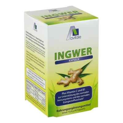 Ingwer 500 mg Kapseln + Vitamin B1+c  bei apotheke.at bestellen