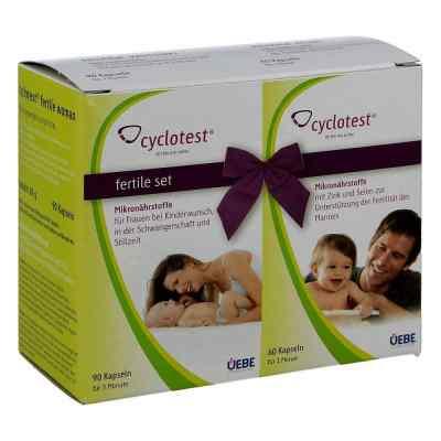 Cyclotest fertile Set Mikronährstoffe Kapseln  bei apotheke.at bestellen
