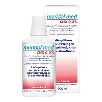 Meridol med CHX 0,2% Lösung zur Anwendung in der Mundhöhle  bei apotheke.at bestellen