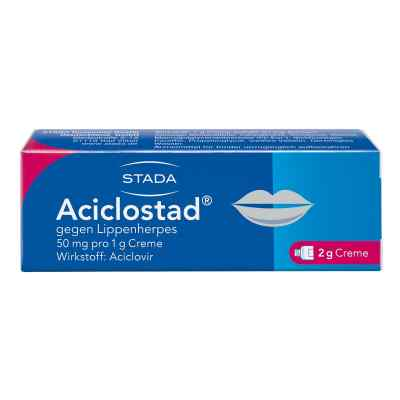 Aciclostad gegen Lippenherpes 50mg pro 1g  bei apotheke.at bestellen