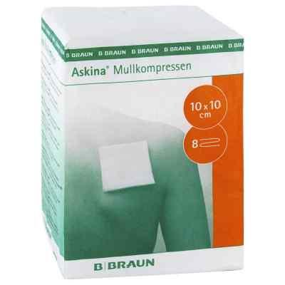 Askina Mullkompressen 10x10 cm unsteril  bei apotheke.at bestellen