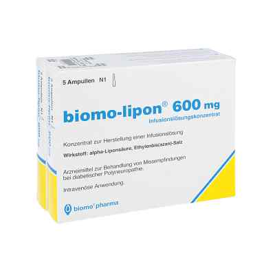 Biomo Lipon 600 mg Ampullen  bei apotheke.at bestellen