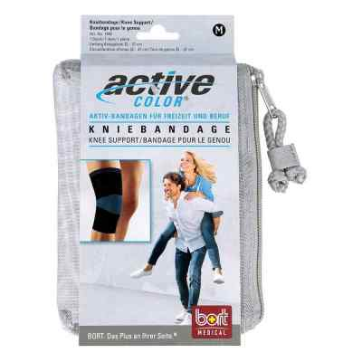 Bort Activecolor Kniebandage medium schwarz  bei apotheke.at bestellen
