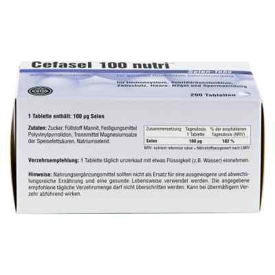 Cefasel 100 nutri Selen Tabs Tabletten