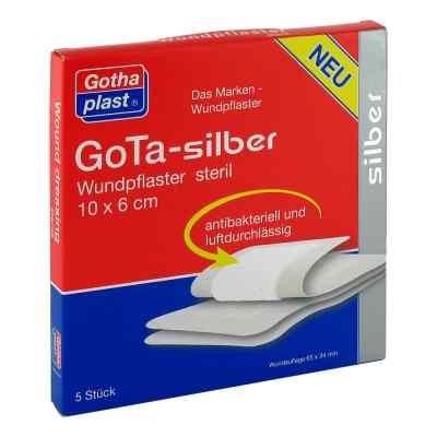 Gota Silber Wundpflaster 6x10 cm steril  bei apotheke.at bestellen