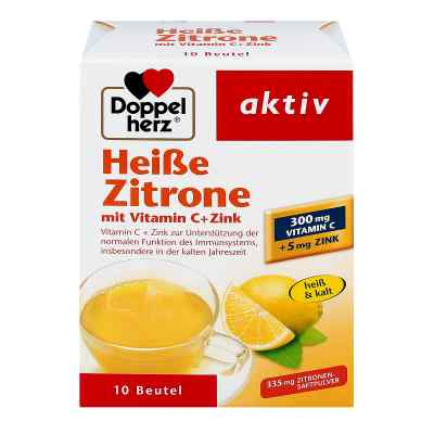 Doppelherz Heisse Zitrone Vitamin C + Zink Granula