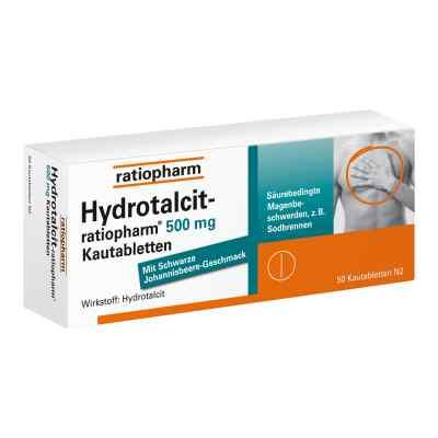 Hydrotalcit-ratiopharm 500mg  bei apotheke.at bestellen