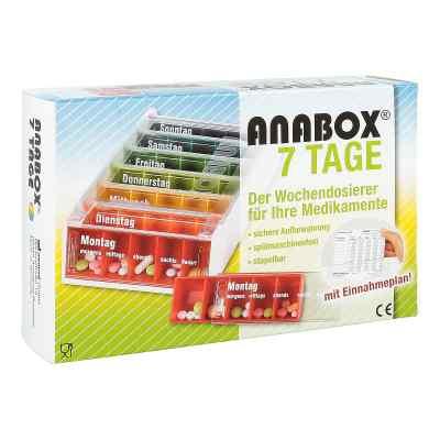 Anabox 7 Tage Regenbogen mit Einnahmeplan  bei apotheke.at bestellen