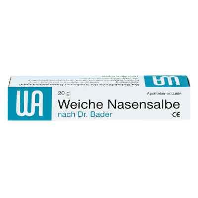Weiche Nasensalbe noctu  Doktor  Bader