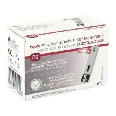 Beurer Gl32/gl34/bgl60 Blutzucker-teststreifen  bei apotheke.at bestellen